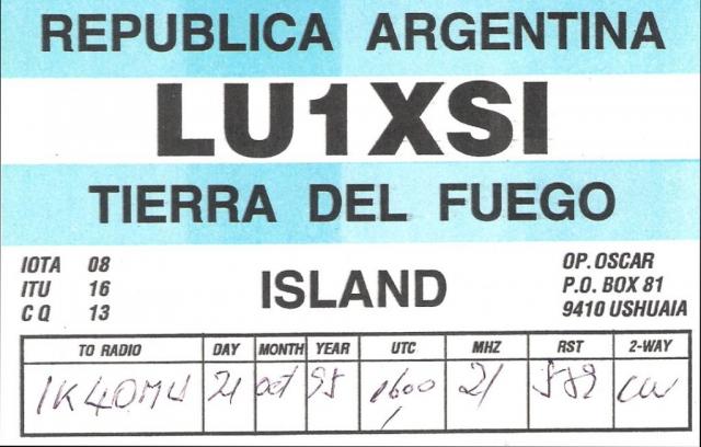 lu1xsi qsl card