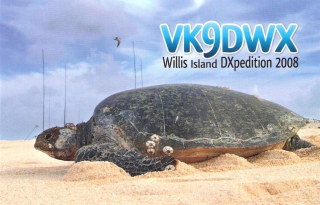 vk9dwx qsl card
